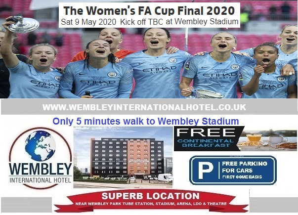 Wembley Stadium May 2020 Women's FA Cup Final