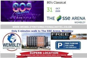 Wembley Arena 80's Classical Oct 2020