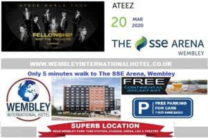Wembley Arena March 2020 ATEEZ