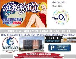 O2 Arena London July 2020 Aerosmith