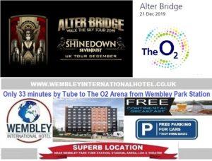 The O2 Arena Dec 2019 Alterbridge
