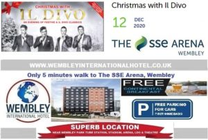 Wembley Arena Dec 2020 Il Divo