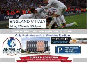Wembley Stadium 27 March 2020 England v Italy