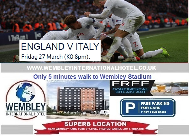 Wembley Stadium 27 March 2020 England v Italy