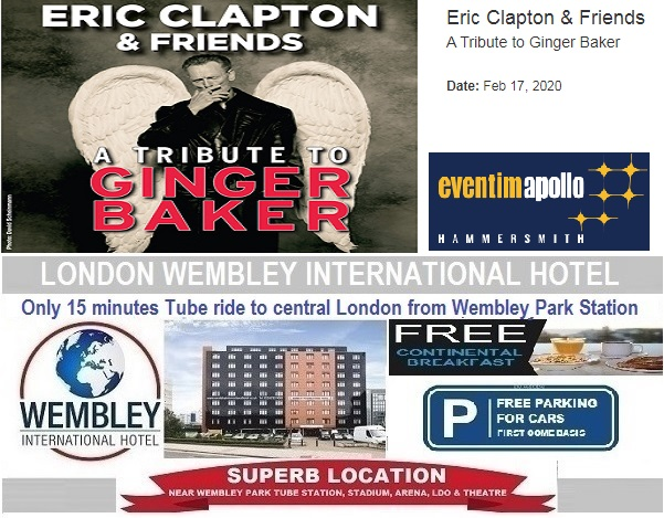 Eric Clapton a tribute to Ginger Baker Feb 2020