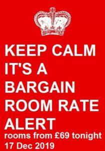 bargain room rate alert for Wembley International Hotel