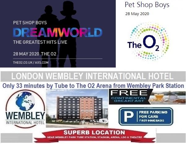 O2 Arena London Pet Shop Boys