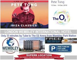 London O2 Arena Dec 2019 Pete Tong
