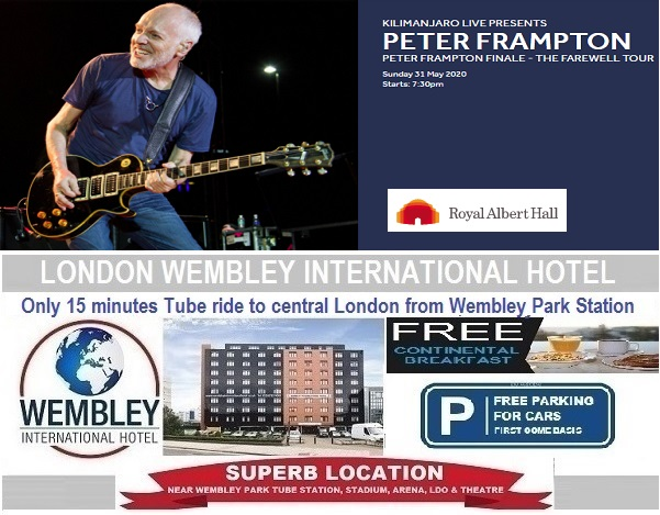 Royal Albert Hall May 2020 Peter Frampton