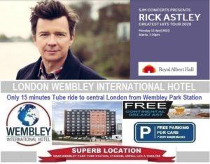 Royal Albert Hall 2020 Rick Astley