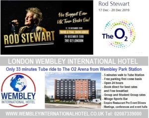 O2 Arena London Dec 2019 Rod Stewart