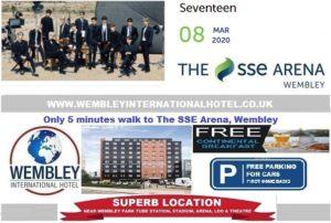 Wembley Arena Seventeen March 2020