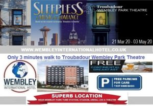 Troubadour Wembley Park Theatre Mar - May 2020