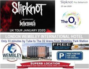 O2 Arena London Slipknot