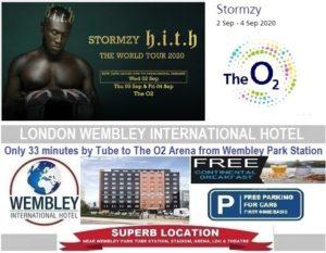 O2 Arena London Stormzy Sep 2020