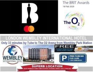 O2 Arena London Feb 2020 Brit Awards