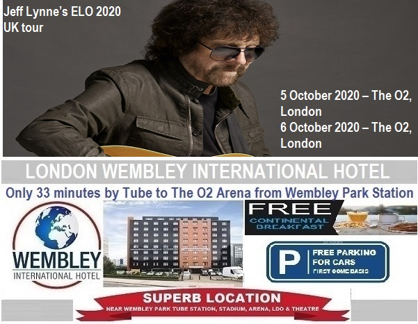The O2 Arena London Oct 2020 ELO Jeff Lynne