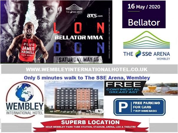 Wembley Arena May 2020 Bellator