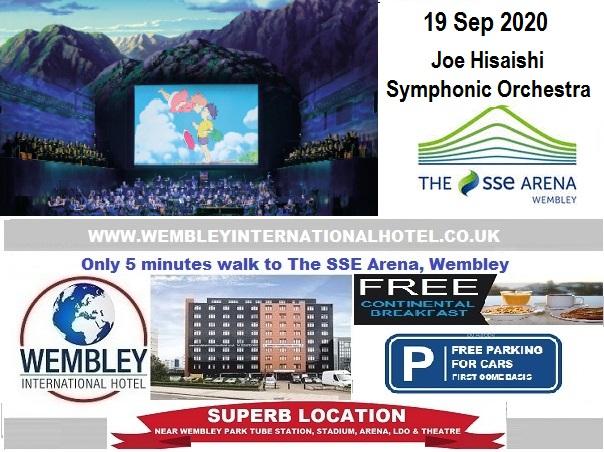 Wembley Arena Sep 2020 Joe Hisaishi