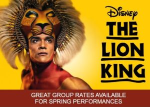 Group Rates for The Lion King London