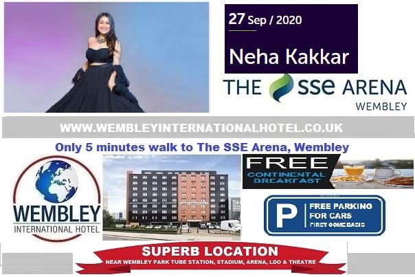 Wembley Arena Sep 2020 Neha Kakkar