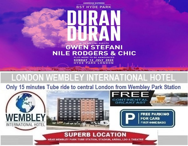 BST Hyde Park July 2020 Duran Duran