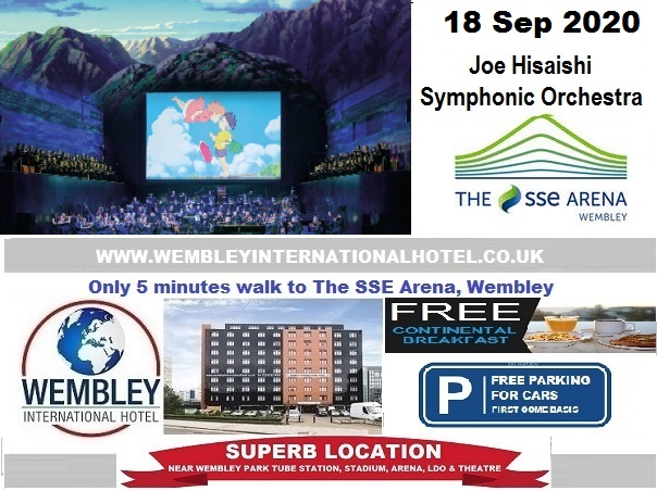 Additional Date Wembley Arena Joe Hisaishi Sep 2020