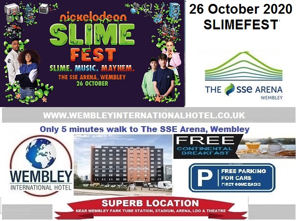 Wembley Arena Slimefest Oct 2020