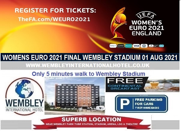 Wembley Stadium Womens Euro 2021 Final