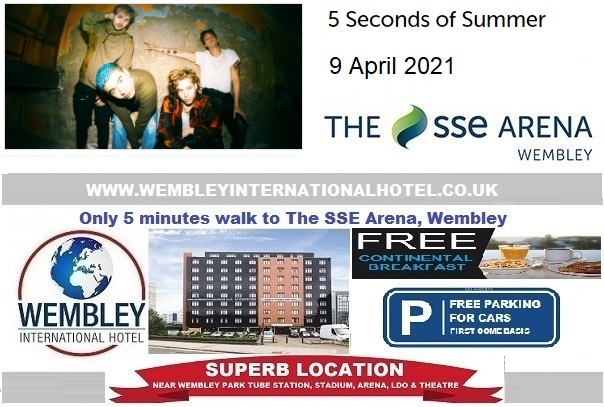 5 Seconds of Summer rescheduled Wembley concert 2021